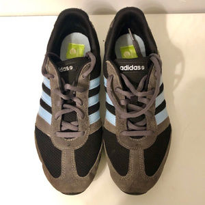 Adidas Neo Vibe Complete Gray Blue Black Shoes 8